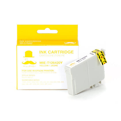 Compatible_Epson_WorkForce_633_Printer_Epson_T126420_T1264_Yellow_Cartridge_High_Yield__Moustache