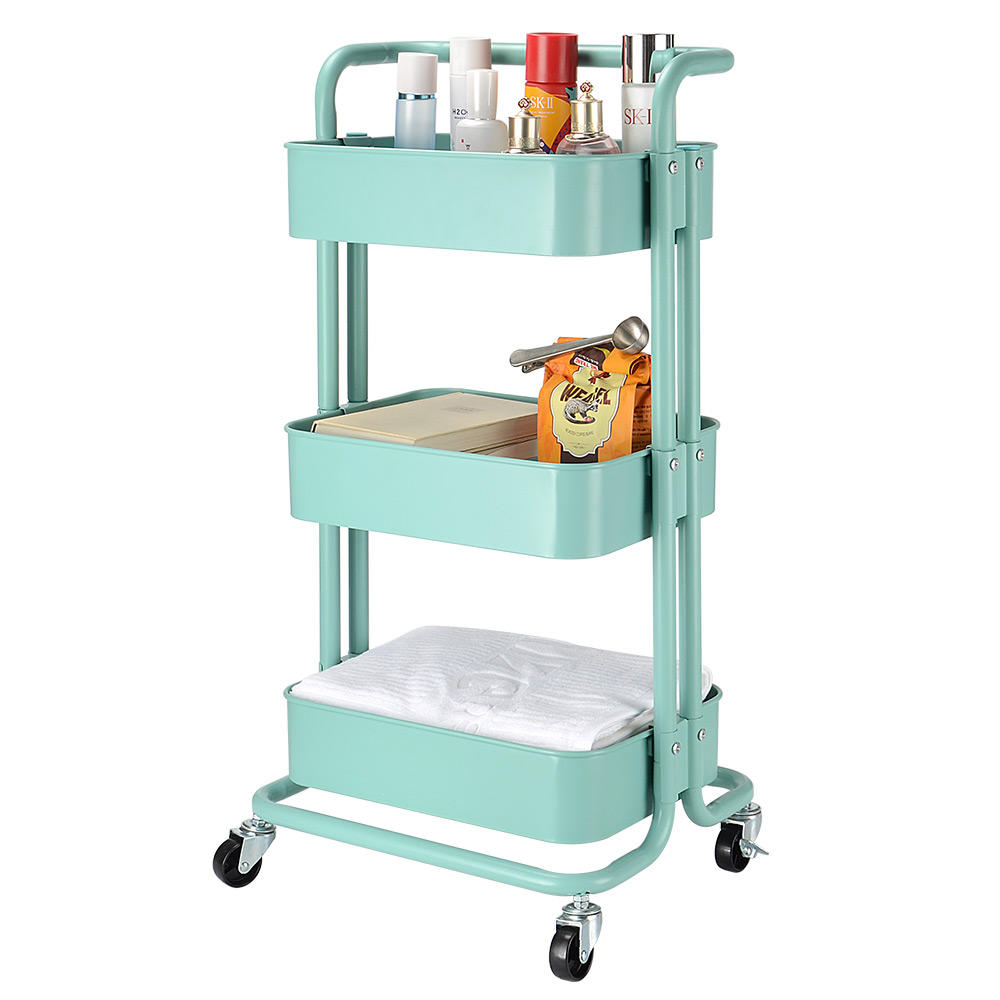 5610a sortwise sw hs 002 racks stands 3 tier metal rolling utility cart heavy duty mobile storage organizer sortwise