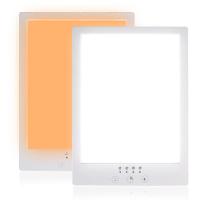 Light Therapy Lamp with Stepless Brightness & Color Temperature