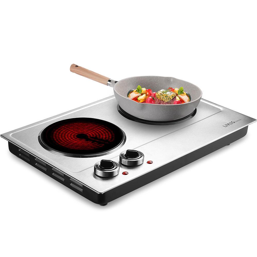 9a3f4 livingbasics lb es 3202c cooker 1800w ceramic electric hot plate for cooking livingbasics