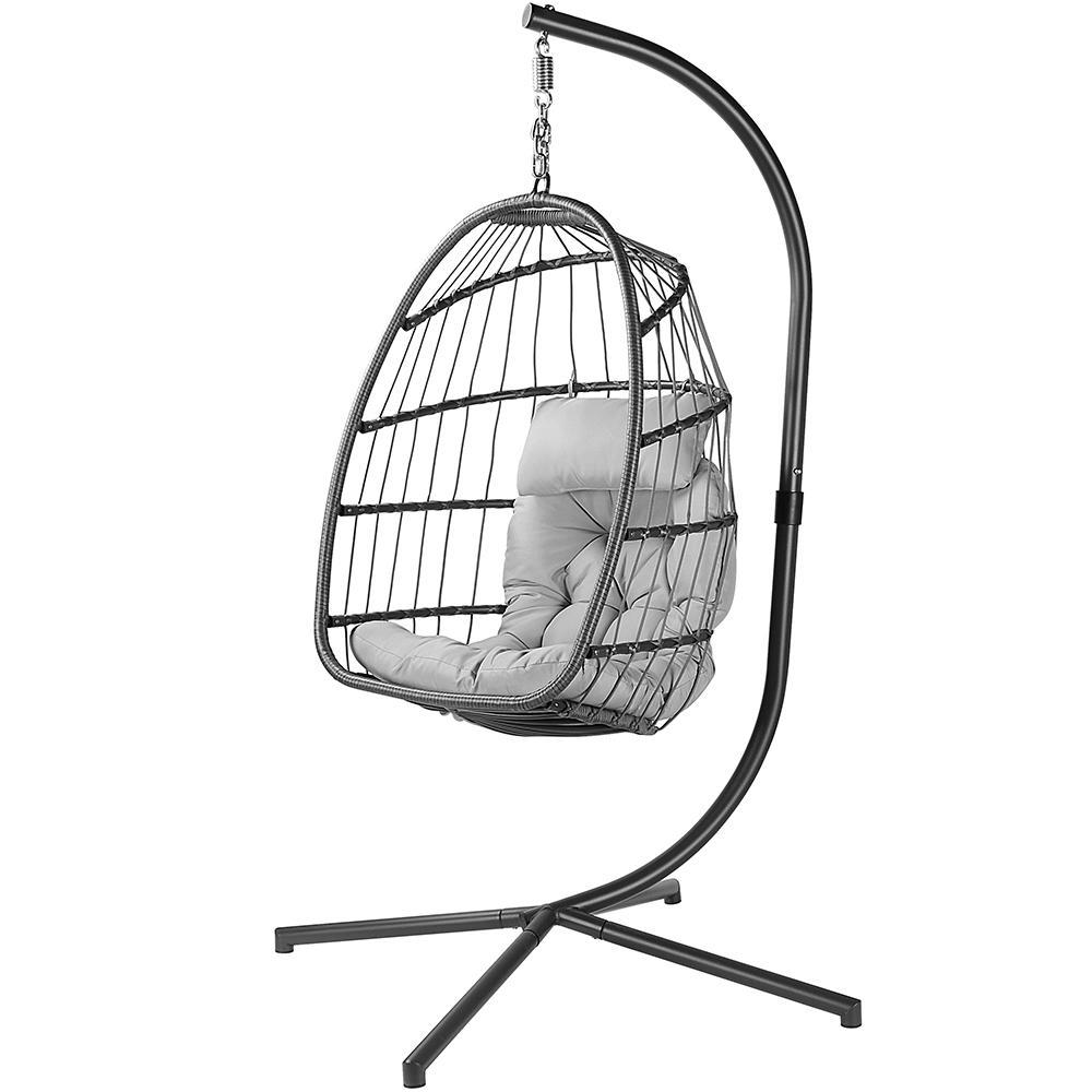 03369 livingbasics lb yc 608001 patio umbrellas hammock indoor outdoor patio wicker hanging chair swing hammock egg chairs
