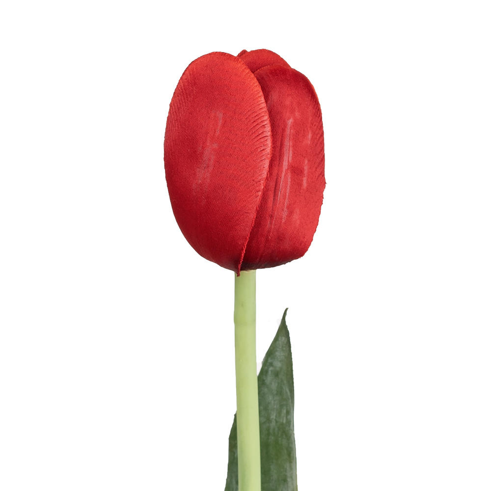 91cf3 other brands lvw 07205rd floral greenery flowers artificial tulip silk flower garden tulip red 23 5 h