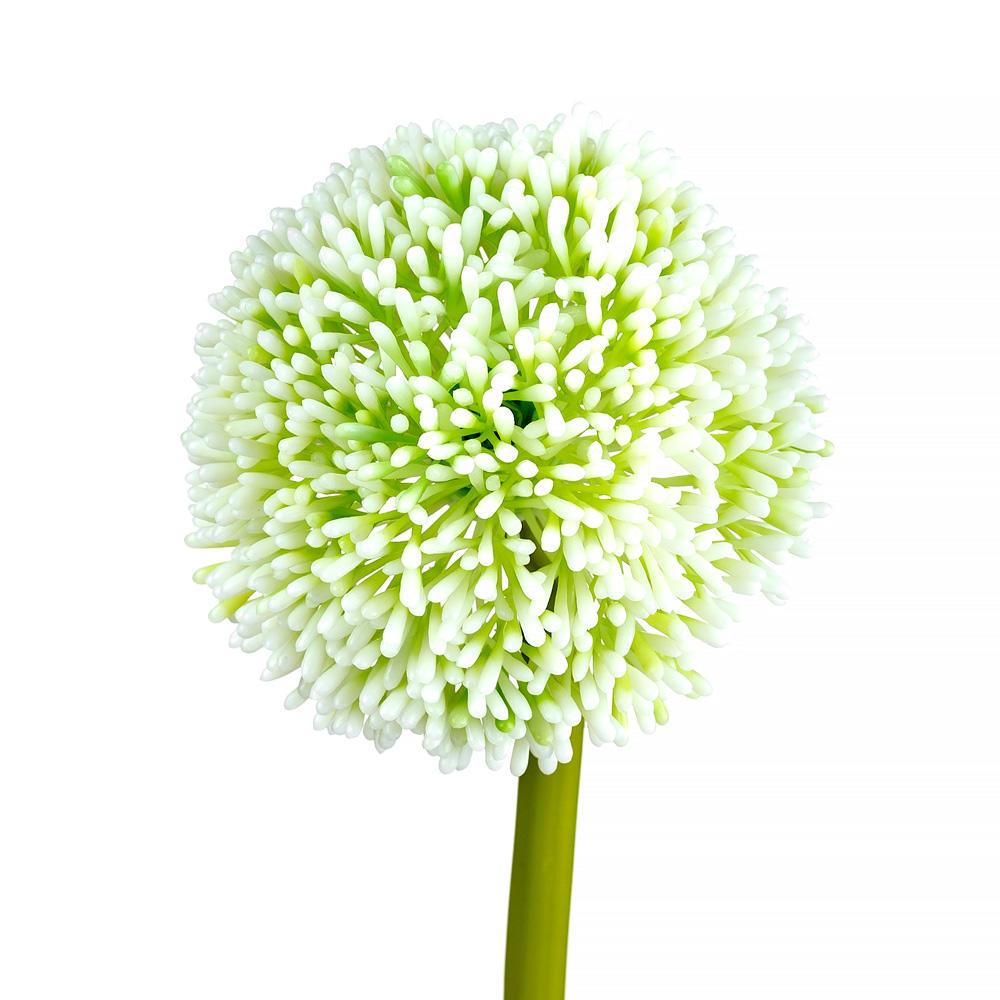 D94a4 other brands lvw af4030wwh floral greenery flowers artificial flower stem single allium 24 h