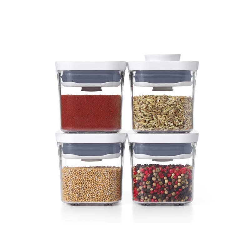 544c5 oxo lvda 11236100g food storage pop 2 0 4 piece mini container set oxo