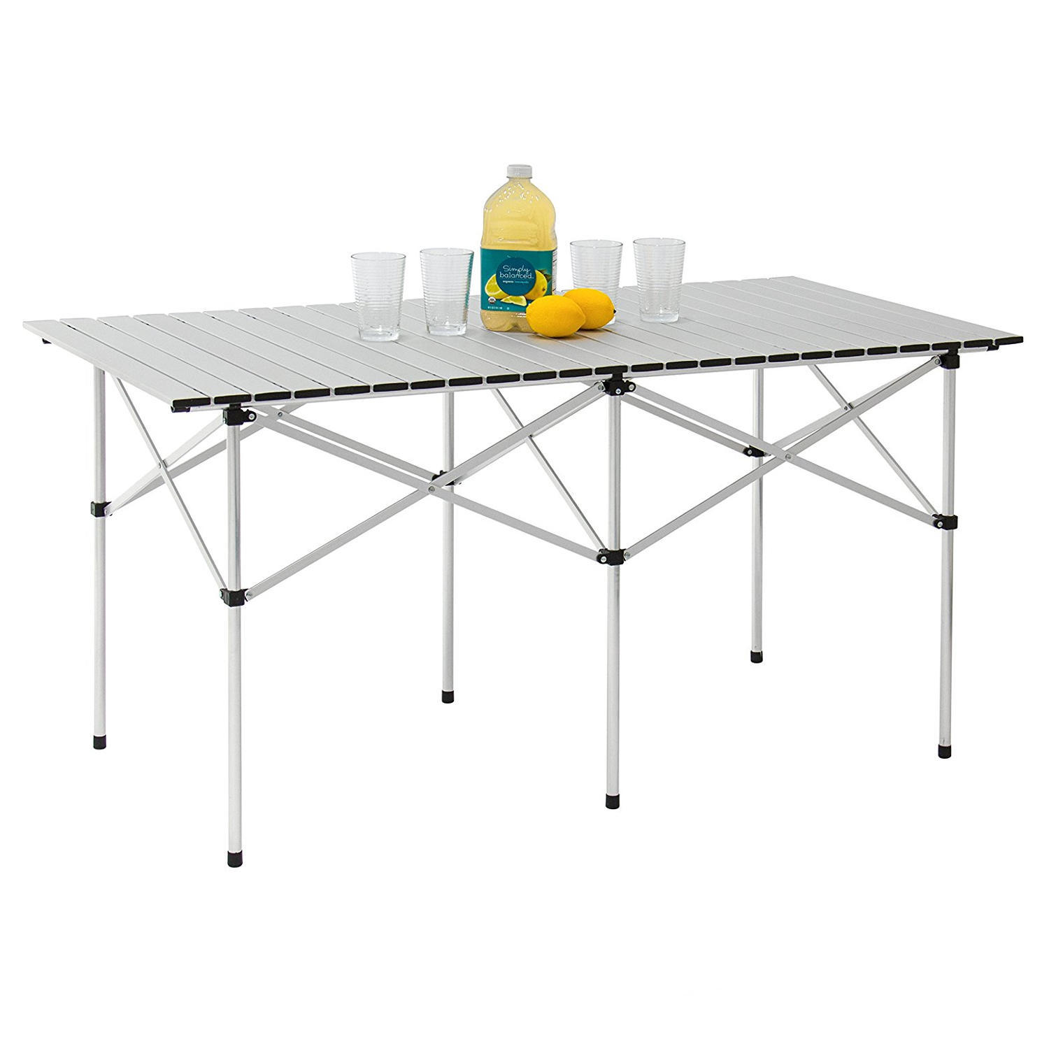 0aee0 moustache lvc ty14070 camping chairs tables portable camping aluminum folding table extended version 140cm x 70cm moustache