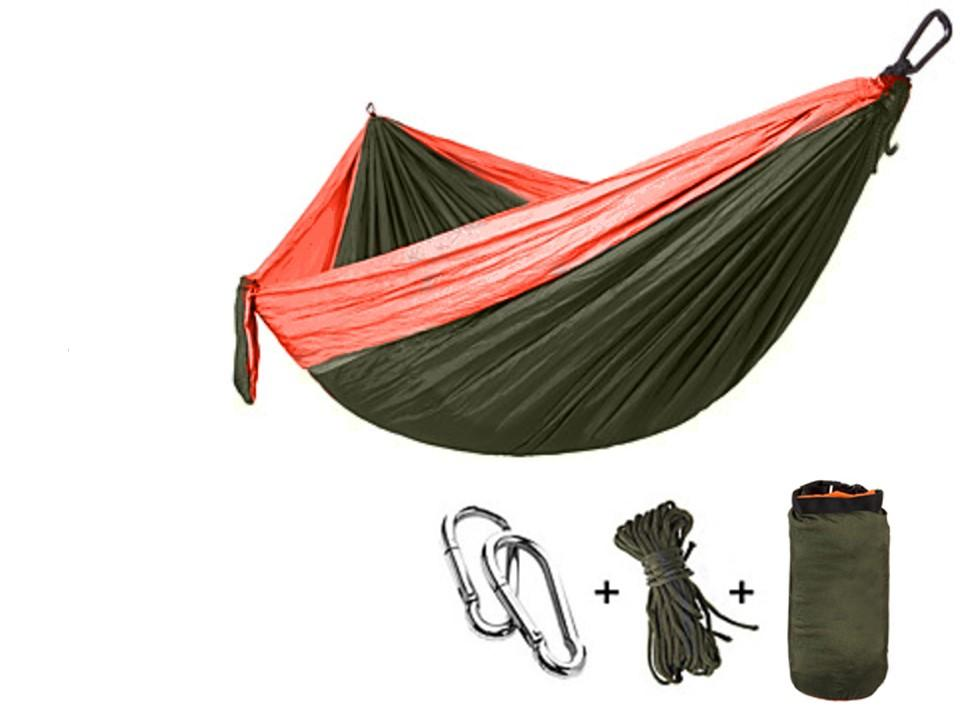 795c4 other brands lvc 59688 camping accessories camping two tone hammock set 106 x55